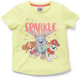 Paw-Patrol-Girls-Sparkle-Tee on sale