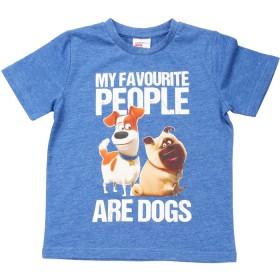 The-Secret-Life-Of-Pets-Boys-Print-Tee-Blue on sale