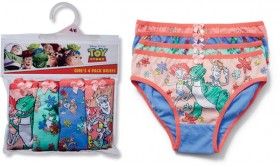 Toy-Story-4-Pack-Kids-Character-Briefs on sale