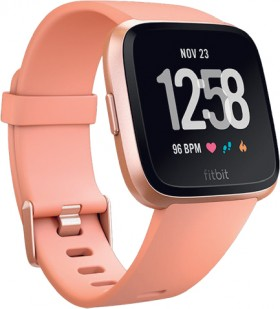 Fitbit-Versa-Peach on sale