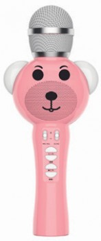 Laser-Kids-Bluetooth-Karaoke-Microphone-Pink on sale