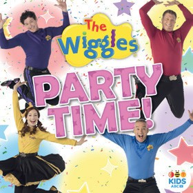 NEW-The-Wiggles-Party-Time-CD on sale