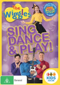 NEW-The-Wiggles-Sing-Dance-Play-DVD on sale
