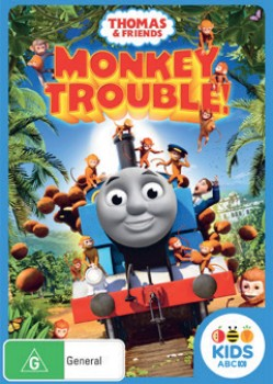 NEW-Thomas-Friends-Monkey-Trouble-DVD on sale