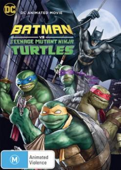 NEW-Batman-Vs-Teenage-Mutant-Ninja-Turtles-DVD on sale