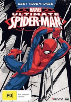Marvel-Ultimate-Spider-Man-DVD on sale