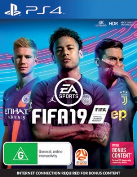 PS4-FIFA19 on sale