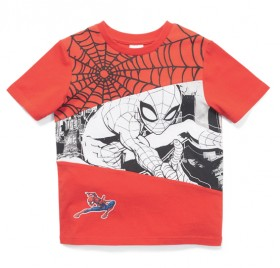 Spider-Man-Boys-Print-Tee-Red on sale