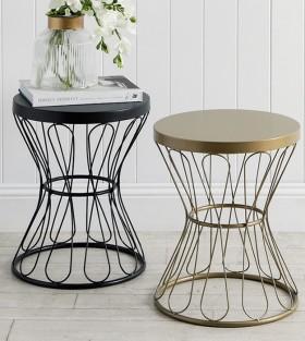 Milan-Side-Table-by-Habitat on sale