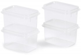 4-Pack-250ml-Snap-Lid-Containers on sale