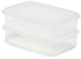 2-Pack-1-Litre-Snap-Lid-Containers on sale