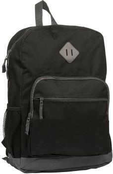 20-Litre-Basic-Backpack-Black-Grey on sale