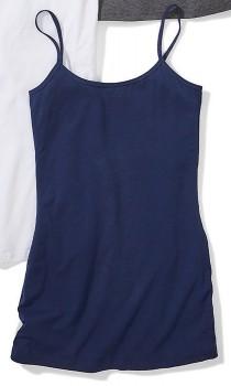 Womens-Longline-Cami-Blue on sale