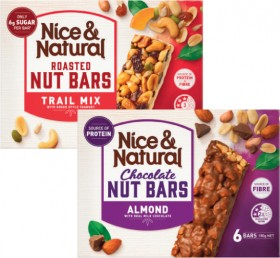 Nice-Natural-Nut-Bars-180g-192g on sale