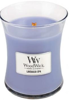 Woodwick-Medium-Candle-Lavender-Spa on sale