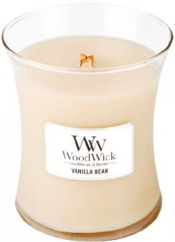 Woodwick-Medium-Candle-Vanilla-Bean on sale