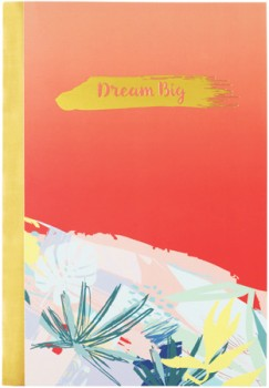 A5-Slim-Notebook-64-Pages-Coral on sale