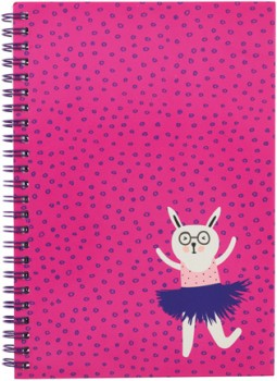 A5-Spiral-Notebook-160-Pages-Pink on sale