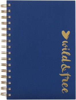A5-3-Subject-Notebook-270-Pages-Navy on sale