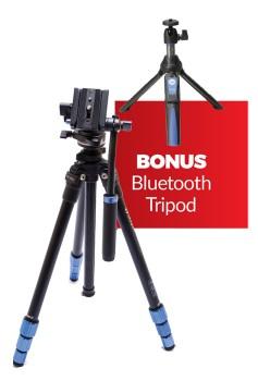 Benro-Travel-Slim-Video-Tripod on sale
