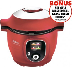 Tefal-Cook4Me-Multicooker-Red on sale