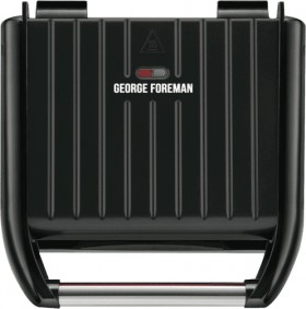George-Foreman-Family-Steel-Grill on sale