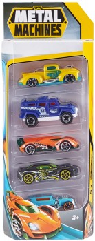 Assorted-Metal-Machines-Ultimate-Racing-5-Pack-Vehicles on sale