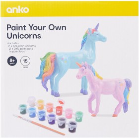 2-Pack-Paint-Your-Own-Unicorns on sale