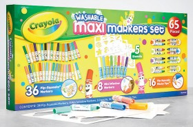 Crayola-Maxi-Markers-Set on sale