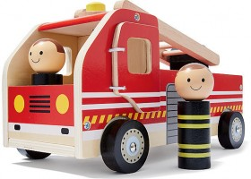 Wooden-Fire-Truck on sale