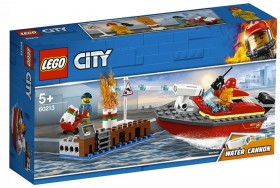 LEGO-City-Dock-Side-Fire-60213 on sale