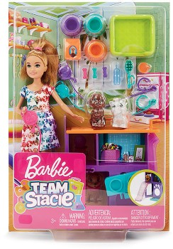 NEW-Barbie-Stacie-and-Puppies on sale