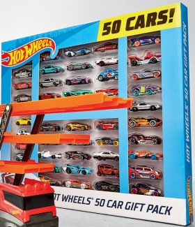 Hot-Wheels-50-Car-Gift-Pack on sale