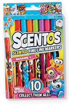 Scentos-10-Pack-Scented-Fine-Line-Markers on sale