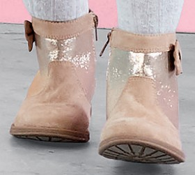Kids-Boots-Rose-Gold on sale