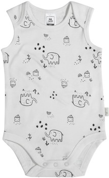 Baby-Organic-Sleeveless-Bodysuit-White on sale