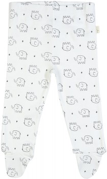 Baby-Organic-Footed-Leggings-White on sale