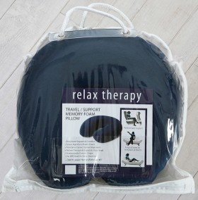 Premium-Memory-Foam-Travel-Pillow-by-Relax-Therapy on sale