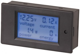 DC-Power-Meters-6.5-100V-with-Built-In-Shunt on sale