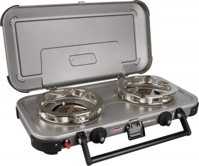 Coleman-HyperFlame-FyreKnight-2-Burner-Stove on sale