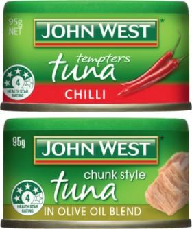 John-West-Tuna-Tempters-90g-95g on sale