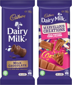 Cadbury-Family-or-Marvellous-Creations-Block-Chocolate-150g-190g on sale