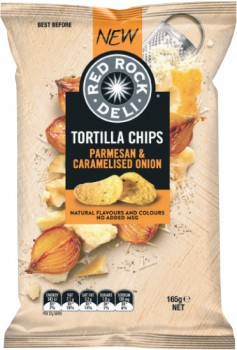 Red-Rock-Deli-Tortilla-Chips-165g on sale
