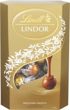 Lindt-Lindor-Cornet-375g on sale