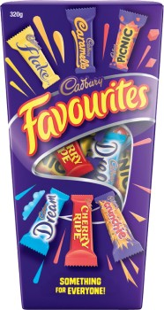 Cadbury-Favourites-Boxed-Chocolate-320g on sale