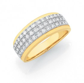 9ct-Gold-Ring on sale