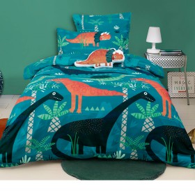 40-off-Kids-House-Funky-Dinosaur-Quilt-Cover-Set on sale