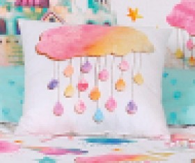 40-off-Kids-House-Wonderland-Cushion on sale