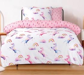 Ombre-Blu-Rainbow-Unicorn-Quilt-Cover-Set on sale