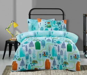 Ombre-Blu-Happy-Camper-Quilt-Cover-Set on sale